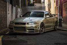 Nissan Skyline GTR R34 M-spec
