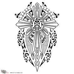 maori cross tattoo - Recherche Google Mais #filipinotattoossun