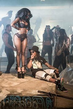 nicki in the only video lawd i want to naturally be built like her
