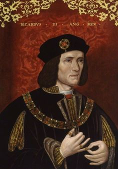 The classic portrait of Richard III, whom Henry Tudor defeated at the Battle of Bosworth Field in August of 1485