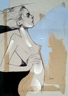 With Baited Breath - Sketch by Art By Doc, via Flickr