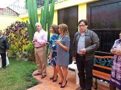 Mario, Pierina y Alma Mendez. July 20, 2014.