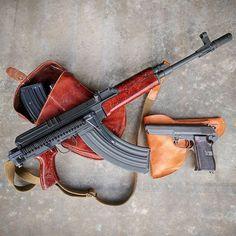 Vz.58 Rifle and Cz.52 Sidearm