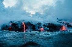 Kalapana, United States Big Island Lava, by Buzz Andersen