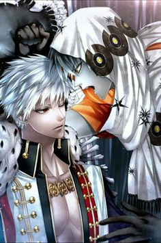 King Jean and Nick from Niflheim