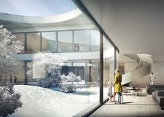 Herzog & de Meuron wins contest for Danish forest hospital