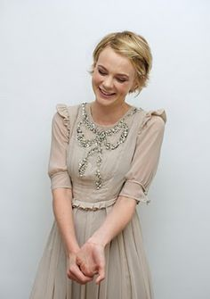 Carey Mulligan - she is so stinkin cute! The should have been companion.
