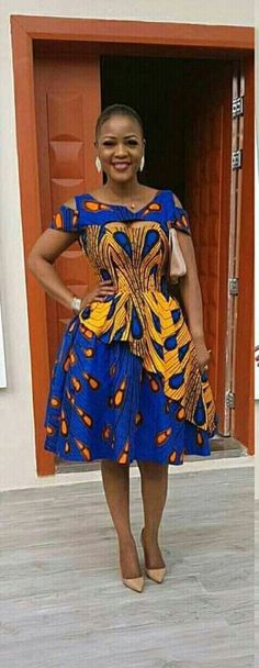 DKK Join us at: for Latest African fashion Ankara kitenge African women dresses Bazin African prints African men's fashion Nigerian style Ghanaian fashion African Dresses For Women, African Print Dresses, African Fashion Dresses, African Attire, African Wear, African Prints, Ankara Fashion, Ankara Styles For Women, African Fabric
