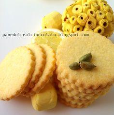 biscotti con limone e polenta al cardamomo | PANEDOLCEALCIOCCOLATO