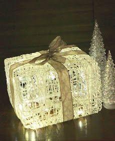 Herkkukoti: Valoa paketissa Christmas Wrapping, Christmas Crafts, Christmas Ideas, Environmentally Friendly Gifts, Recycled Gifts, Paper Light, Ideas Hogar, Green Gifts, Very Merry Christmas