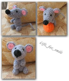 knitted mouse masterclass