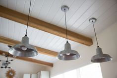 Industrial Pendants Ideal for Small, Rustic Kitchen | Blog | BarnLightElectric.com