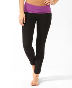 Contrast Waist Athletic Pant