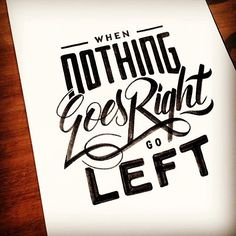 Lettering  Typography Inspiration | From up North