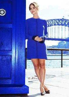 Jenna Coleman in Sydney for the Doctor Who World Tour.