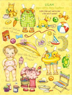 mary inglebreit | Mary Engelbreit Paper Dolls ♥ … off to a new home
