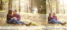 late fall sunset  Melissa Koren Photography | Nadia and Rich: Engaged!  Maudslay State Park Photography | http://www.melissakoren.com