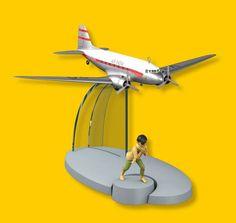 Douglas DC-3 (Tintin au Tibet) [Plane # 12]