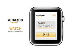 Amazon Watch App (Wireframe) by ufuk aydın