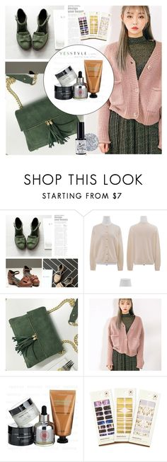 """ Show us your YesStyle "" by allanaaa11 ❤ liked on Polyvore featuring chuu"