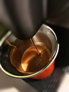 Guten Morgen…kräftig und doch mild da ist ein #Arpeggio #Kaffe von @Nespresso genau richtig