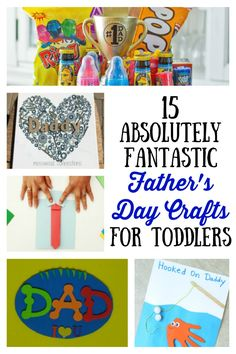 These Father's Day crafts for toddlers are absolutely fantastic. I can't wait to make them all!
