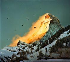 Golden Sunrise on the Matterhorn. By Katarina Stefanović.