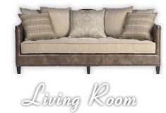 I've been wanting to remodel my living room for a while, because the ugly sea green color that I got in the 90's no longer appeals to me.  I would love a more neutral toned room, filled with tans and browns.  This couch is exactly what I'm looking for, and I love the modern look it has with the different couch cushions.