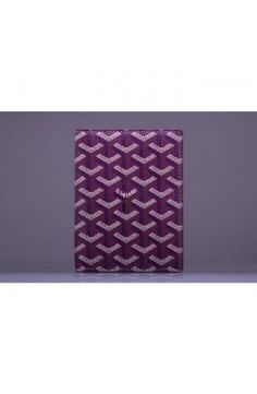Goyard Passport Case Purple