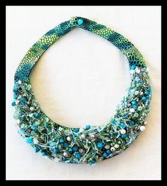 hand made -Chile Turquoise Necklace, Beaded Necklace, Chile, Handmade, Jewelry, Fashion, Accessories, Beaded Collar, Moda