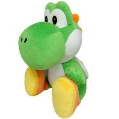 Peluche sous licence officielle NINTENDO Peluche Nintendo du personnage Yoshi Taille  : 45 cm