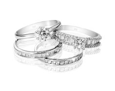 Gold Diamond Rings From Top: and *Prices Valid Until 25 Dec 2013 Wedding Goals, Dream Wedding, Wedding Ideas, My Christmas Wish List, White Gold Wedding Rings, Gold Diamond Rings, Diamond Are A Girls Best Friend, Fine Jewelry, Bling