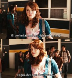 I'm gonna have to get a lower-back tattoo ~ Easy A (2010) ~ Movie Quotes #amusementphile