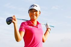 SINGAPORE - MARCH 02:  Lydia Ko of New Zealand poses during the pro-am prior to the start of the HSBC Women's Champions at Sentosa Golf Club on March 2, 2016 in Singapore.  (Photo by Scott Halleran/Getty Images)
