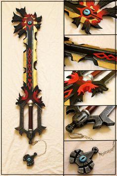 Chaos Ripper Keyblade by Sephiroths-Shadow on DeviantArt