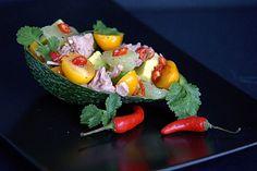 szczypta smaQ: Sałatka z tuńczyk