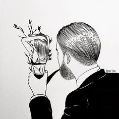 a man in love / 맨 인 러브 . . . #gentleman #smoking #pipe #tabacco #love #신사 #담배