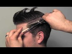 Classic Tailored Men's Hair Cut - YouTube