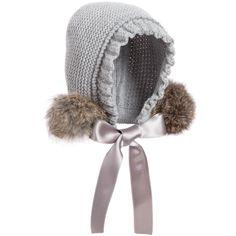 Foque - Girls Pram Coat & Bonnet Set | Childrensalon