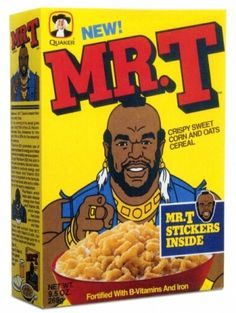 Fun Pop-culture cereals from the 80's and 90's.  Why did they stop?