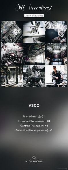 ***Silk Decontrast*** Графические настройки VSCO//VSCO inspired presets