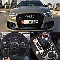 Audi RS3 Quattro (Interior)