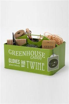Burgon & Ball Greenhouse Garden Caddy Carry Twine Gloves Labels Tools for sale online Plant Labels, Seeds For Sale, Outdoor Curtains, Greenhouse Gardening, Greenhouse Ideas, Garden Furniture Sets, Garden Shop, Gardening Supplies, Garden Accessories
