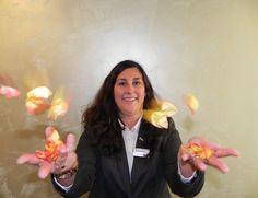 """#HOTELS #SWD #GREEN2STAY Radisson Blu Hotel, Rostock  Wir begrüßen Andrea Jesse, unsere Private Event Managerin.  Ihr Job, die Inszenierung unvergesslicher Augenblicke! """"Mit Know-How und Phantasie begleite ich Sie von der ersten Idee bis zum großen Augenblick."""" Planen Sie auch eine Familienfeier, einen runden Geburtstag oder Ihre eigene Hochzeit?.."""