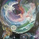 Cosmic Soup by EnserCreations on Etsy, $100.00