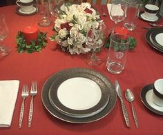 Setting the table instructions