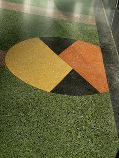 Terrazzo Floor, Alameda Theatre - 2317 Central Avenue, Alameda, CA
