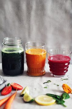 3 Restoring spring juices #detox | The Awesome Green