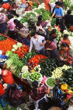 Guatemala's fresh produce market