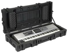 SKB Roto-ATA 88-Note Large Keyboard Case with Wheelsand, TSA Locking, Trigger Latches by SKB. $555.87. The 1R6223W for 88-note keyboards is designed for keyboard players who are looking for the best protection for their delicate musical instruments. It is rotationally molded from Linear Low Density Polyethylene (LLDPE), offering high durability and strength and features SKB's proprietary glass reinforced nylon trigger latches with TSA locks, enabling musicians to s...